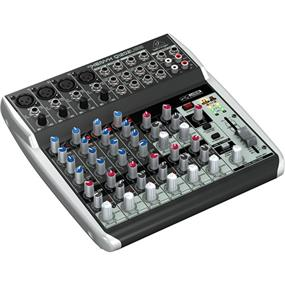 Behringer XENYX Q1202USB - 12 Input, 2 Bus Mixer with USB Output