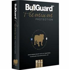 Bullguard Premium Protection Retail CD Tuckin box (3 user/1 year)