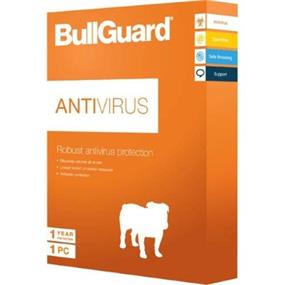 Bullguard Antivirus Retail CD mini Tuckin box (1 user/1year)