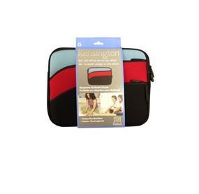 Kensington Neoprene Netbook Sleeve - Tricolour Blue/Red/Black