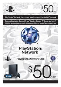 Sony PlayStation PSN Card - $50