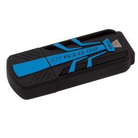 Kingston DataTraveler R3.0 G2 16GB USB Flash Drive, Read: 120MB/s, Write: 25MB/s (DTR30G2/16GB)