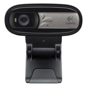 Logitech C170 HD 1024x768 USB Webcam - Black (960-000880)