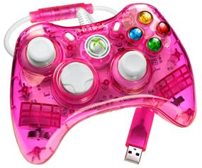 PDP PC/XBOX 360 - Rock Candy Gaming Controller - Pink (PL3760PK)