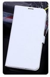 iCAN Samsung Galaxy S5 Leather grain design Case (White)