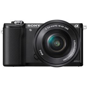 Sony Alpha A5000 - Mirrorless Digital Camera with 16-50mm Lens (Black)
