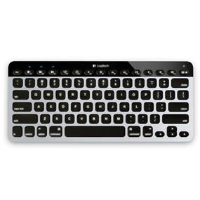 Logitech K811 Bluetooth Easy-Switch Keyboard for Mac - Silver and Black (920-004161)