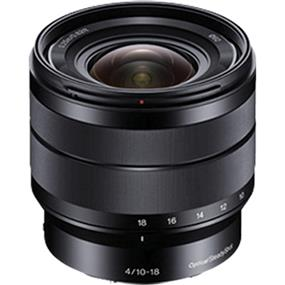 Sony SEL1018 - E-Mount 10-18mm f/4 OSS Alpha Wide-Angle Zoom Lens