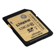 Kingston Ultimate 128GB (Class 10 UHS-I) SDXC Card Up to 90MB/s read, 45MB/s write (SDA10/128GB)