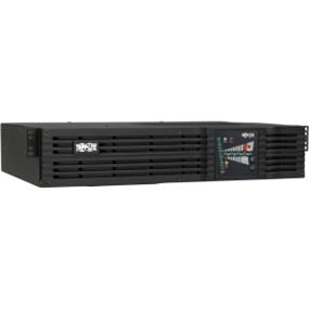 "Tripp Lite SmartOnLine SU2200RTXL2UA - UPS ( rack-mountable ) - AC 110/120 V - 1.6 kW - 2200 VA - RS-232, USB - 7 output connector(s) - 2U - 19"""