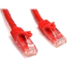 StarTech Snagless Cat6 UTP Patch Cable (Red) - 3 ft. (N6PATCH3RD)