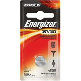 Energizer Zero Mercury Silver Oxide 1.5V Watch Battery  (357BPZ)