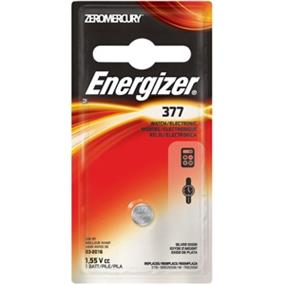 Energizer Zero Mercury 1.5V Watch Battery (377BPZ)
