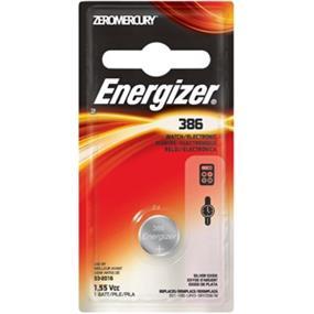 Energizer Zero Mercury 1.5V Watch Battery (386BPZ)