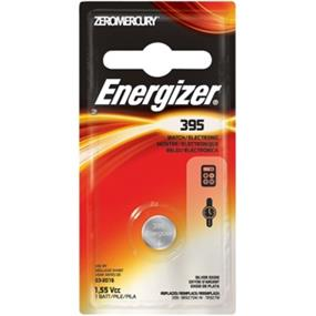 Energizer Zero Mercury 1.5V Watch Battery (395BPZ)