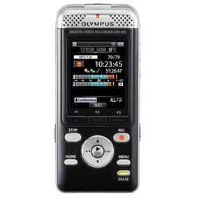 Olympus DM-901 Digital Voice Recorder -Built-in 4GB Memorry, 2'' Color LCD, Wi-Fi Connectibility