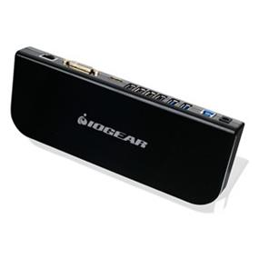 IOGEAR USB 3.0 Universal Docking Station GUD300 Black