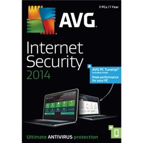 AVG Internet Security 2014 + PC TuneUp