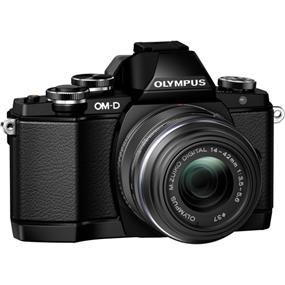 Olympus OM-D E-M10 Mirrorless Micro Four Thirds Digital Camera with 14-42mm Lens (Black)