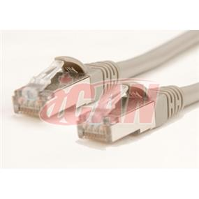 iCAN Cat5e 50ft STP (Shielded) 350Mhz Grey (C5ENBS-050GRY)