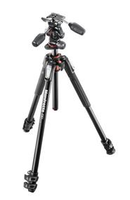 Manfrotto MK190XPRO3-3W Aluminum Tripod with MHXPRO-3-Way Head