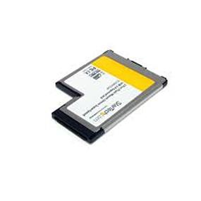 StarTech 2 Port Flush Mount ExpressCard USB 3.0 Adapter with UASP Support (ECUSB3S254F)