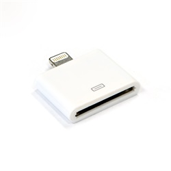 LBT Micro USB TO APPLE 8 PIN PORT adapter white