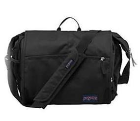 """JanSport Elefunk messenger bag black 15"""""""