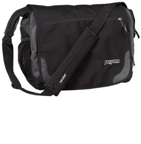 "JanSport Elefunk 15"" messenger bag black"