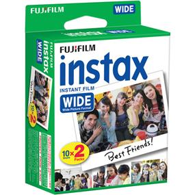 FUJIFILM Instax® Wide Film 2-Pack (20 Exposures)