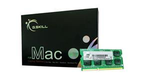 G.SKILL SQ Series for Apple 8GB (2x4GB) DDR3 1600MHz CL11 SODIMMs (FA-1600C11D-8GSQ)