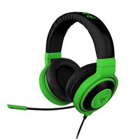 Razer Kraken Pro - Analog Over Ear Music, PC and Gaming Headset - Neon Green (RZ04-00870900-R3M1)