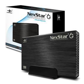 """Vantec NexStar3 (NST-366S3-BK) 3.5"""" SATA III 6 Gbp/s to USB 3.0 Aluminum External HDD Enclosure Black"""