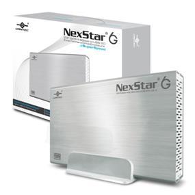 """Vantec NexStar3 (NST-366S3-SV) 3.5"""" SATA III 6 Gbp/s to USB 3.0 Aluminum External HDD Enclosure Silver"""
