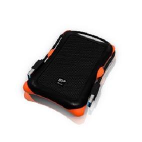 "Silicon Power Armor A30 2TB 2.5"" USB 3.0 Rugged Portable External Hard Drive Black (SP020TBPHDA30S3K)"