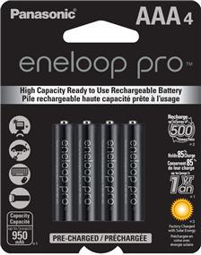 Panasonic Eneloop PRO AAA-4 1.2V Ni-MH 900 mAh BK4HCCA4BA