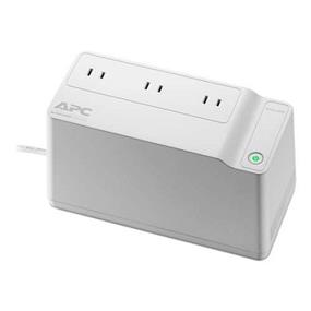 APC Home Network Backup Battery UPS - 3 Outlets w/ Surge Protection, 125VA, 75 Watts - BGE70
