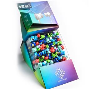 BlueDiamond To Go Sound Isolating Ear buds (multi-colour)