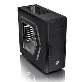 Thermaltake Versa H22 Mid-Tower chassis with 500W Power Supply and Window (CA-3B3-50M1WU-00)