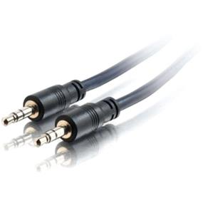 Cables To Go Stereo Audio Cable Shielding (Black) - 50 ft. (40518)