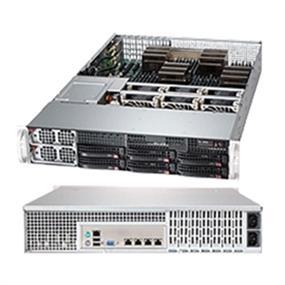 Supermicro System AS-2042G-72RF4 2U AMD Opteron 6000 G34 DDR3 6x3.5inch Hotswap SAS/SATA PCI Express 1400W Retail