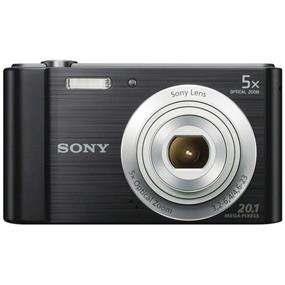 Sony Cyber-shot DSC-W800 Digital Camera (Black)