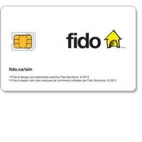 FIDO REPLUGGABLE LTE Nano SIM CARD