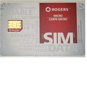Rogers REPLUGGABLE LTE Micro SIM CARD