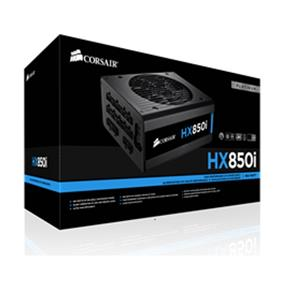Corsair HX850i 850W 80 PLUS Platinum Certified, High Performance Power Supply (CP-9020073-NA)