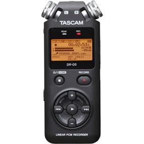 Tascam DR-05 - Portable Handheld Digital Audio Recorder