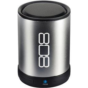808 Audio Canz Wireless Bluetooth Speaker (Silver)