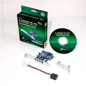 Mediasonic (HP1-U34F) 4 Ports External USB 3.0 PCI Express Card