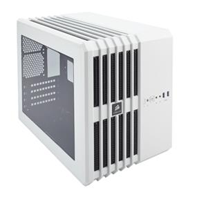 Corsair Carbide Series Air 240 White High Airflow MicroATX and Mini-ITX PC Case (CC-9011069-WW)