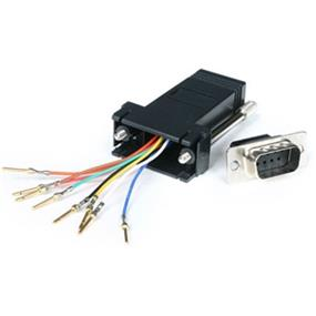 StarTech DB9 to RJ45 Modular Adapter - M/F (Gray) (GC98MF)